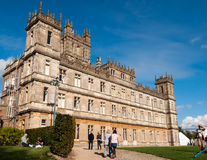 Highclere castle Stock Photography