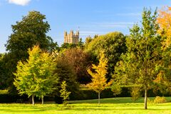 Free Highclere Castle - The Scene For Downton Abbey Royalty Free Stock Images - 196976609