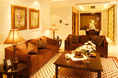 Highend residential interior Royalty Free Stock Photography