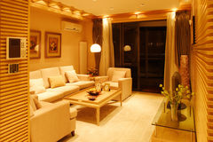 Highend residential interior Royalty Free Stock Photo