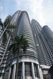 Higher buildings. Asia Architecture. Building Set. Incredible architecture. Modern architecture in Southeast Asia, Malaysia. Building set. Torres petronas Royalty Free Stock Images