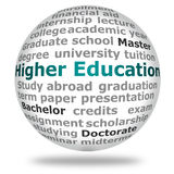 Higher education royalty free illustration
