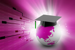 Higher education concept Stock Image