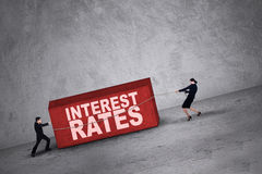 Higher interest rates Stock Photography