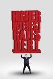 Higher Interest Rates stock photos