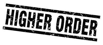 Higher order stamp. Higher order grunge vintage stamp isolated on white background. higher order. sign stock illustration
