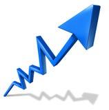 Higher profits royalty free illustration