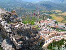 Higher view. Azahara,Spain stock image