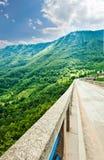 The highest bridge in Europe.Montenegro . Stock Photos