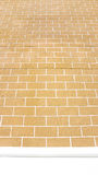 Highest Brown wall brick with the white line. Background Stock Photography