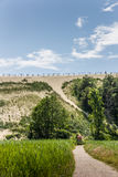 Highest dune on the curonian Spit Royalty Free Stock Photo