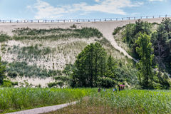 Highest dune on the curonian Spit Royalty Free Stock Images