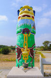 The highest guardian lion in kinmen Royalty Free Stock Photo