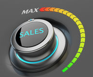 Highest level of sales concept Royalty Free Stock Photography