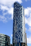 Highest modern building in Liverpool. Royalty Free Stock Photography