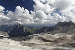 Highest mountain - Zugspitze Stock Image