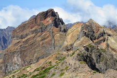 The highest peak of Madeira Island - Pico Ruyvu Stock Images