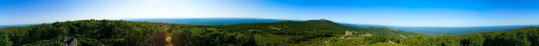 Highest peak of south Ural Stock Photography