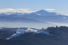 Highest peak of Ukraine - Hoverla Royalty Free Stock Photos