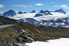 Highest peaks of Norway Stock Photo