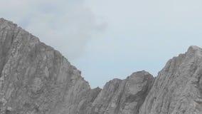 The highest peaks of Olympus. Skala, Mytikas and Stephani, the highest peaks of Olympus in Greece stock video footage