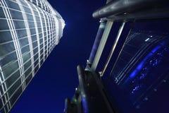 The highest portion of Burj Khalifah Stock Images