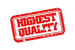 Highest quality rubber stamp Royalty Free Stock Photography