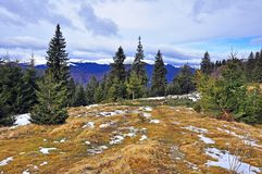 Highest snowy mountain pick Royalty Free Stock Photos