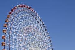 The highest Tempozan Gaint Ferris Wheel (Daikanransha) in the clear sky Stock Photos