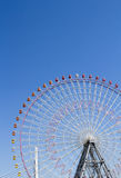 The highest Tempozan Gaint Ferris Wheel (Daikanransha) in the cl Stock Image