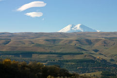Highest top of Europe Elbrus Stock Image