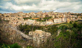 The highest town in Sicily Royalty Free Stock Photos