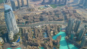Highest view 4k time lapse on dubai city uae stock footage