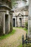 Highgate公墓,伦敦- 19 图库摄影