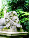 Highgate Cemetery London. Highgate Cemetery Famous Landmark North London Lion Royalty Free Stock Photos