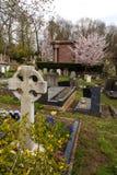 Highgate Cemetery, London. Stock Photo