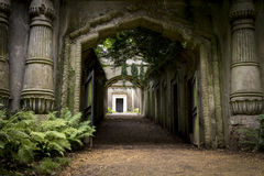 Highgate Cemetery, London - 17 Stock Images