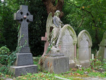 Highgate cemetery, London Royalty Free Stock Photos