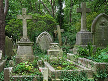 Highgate cemetery, London Royalty Free Stock Images
