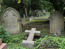 Highgate cemetery, London Royalty Free Stock Image