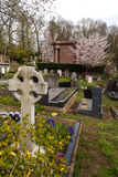 Highgate Cemetery, London. Stock Photo