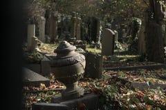 Highgate cmentarz w Londyn Obraz Royalty Free