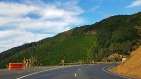 Highgway in Nieuw Zeeland royalty-vrije stock foto's