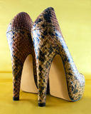 Highheel shoes Royalty Free Stock Images