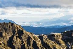 Highland Andes near Quilotoa lagoon, Ecuador, South America Royalty Free Stock Photos