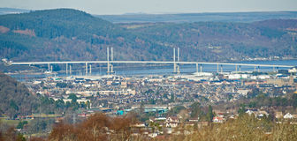 The Highland capital, Inverness, Scotland. Royalty Free Stock Photos