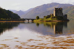 Highland castle Royalty Free Stock Photos