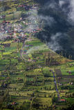 Highland Cemoro Lawang village Stock Images