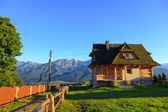 Highland cottage Stock Photography