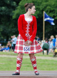 Highland Dancer Stock Images